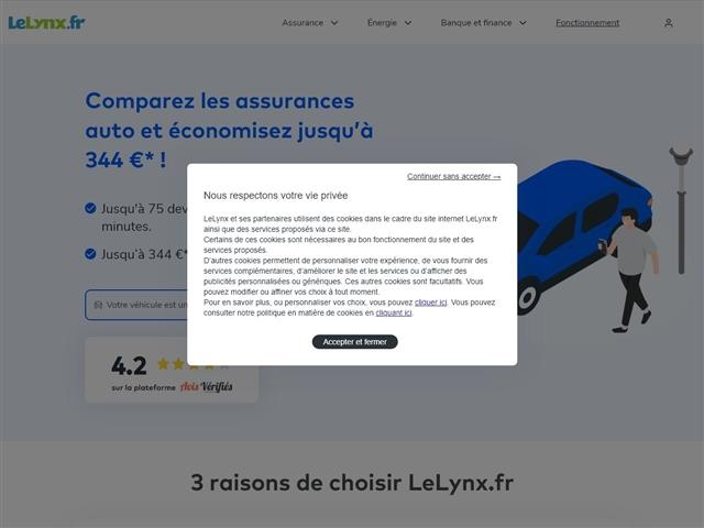 Le Lynx.fr : assurance auto