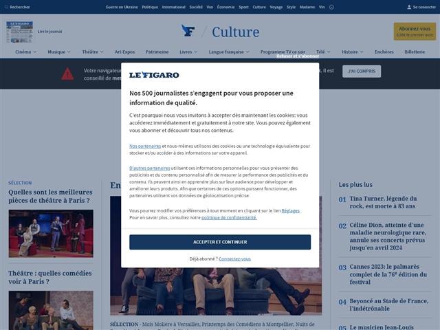 Le Figaro : Théâtre