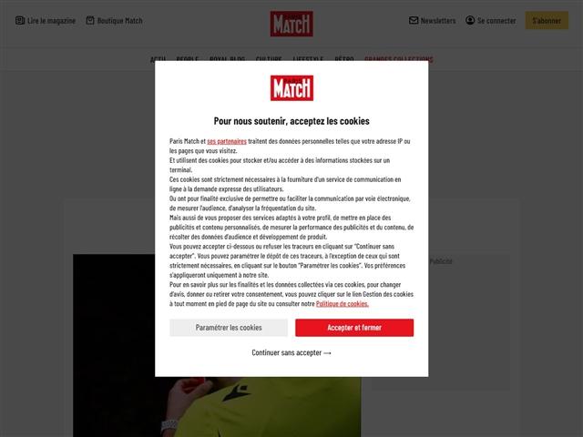 Paris Match : Sport