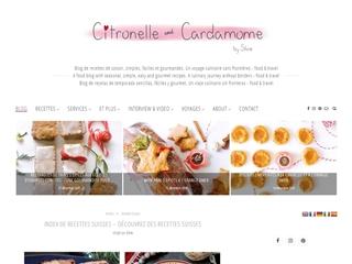 Citronnelle et Cardamome