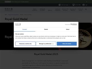 Royal Gold Medal