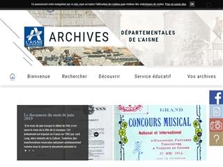 Aisne (02) - Archives départementales