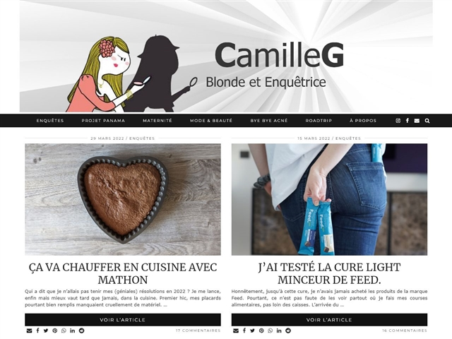 Camille G. : Healthy