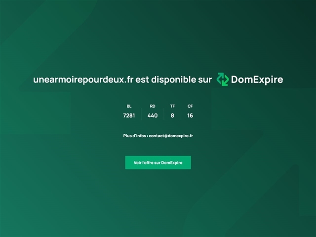 @1 Armoire pour 2 : Kevin's Style