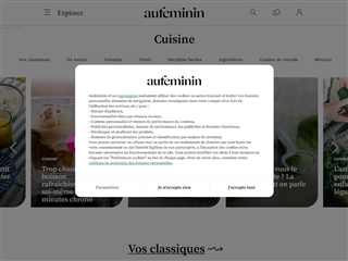 Au Féminin : Cuisine