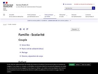 Service Public : Famille