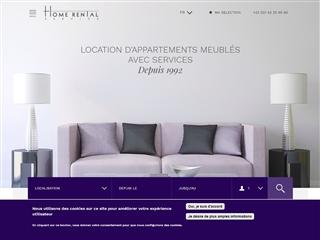 Home rental service