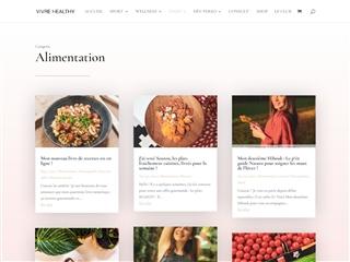 Vivre Healthy : Alimentation