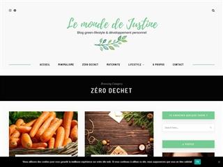 Le Monde de Justine : Zéro Déchet
