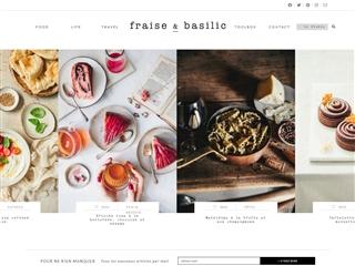 Fraise & basilic