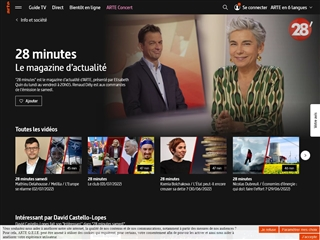 Arte.tv : Vidéos : 28 Minutes