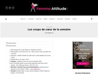 Femme Attitude : Mode