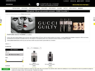 Comptoir de l'Homme : Gucci