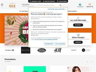 Centre commercial Nice Lingostière