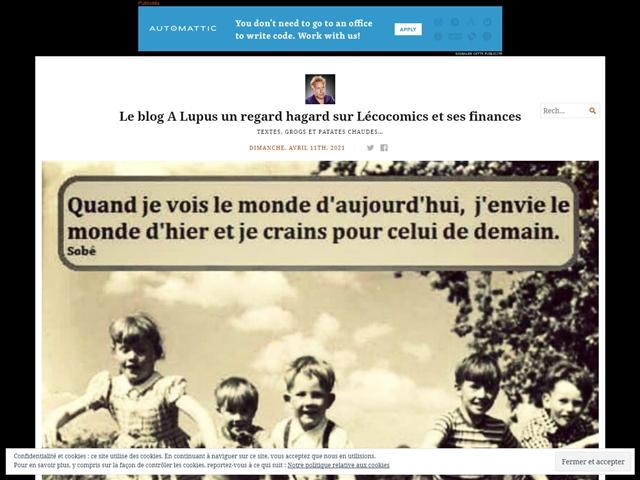 Le blog A Lupus
