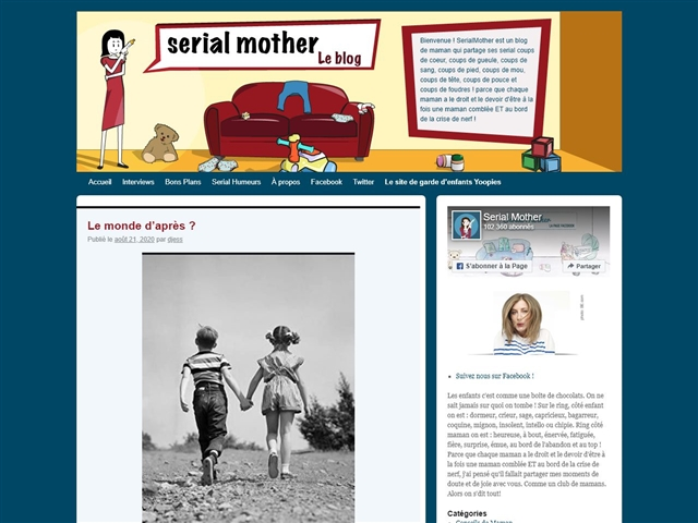 Serial mother : le blog