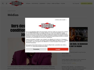 Libération : Médias