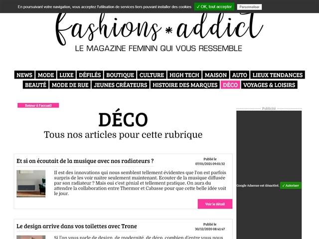 Fashions*Addict : Déco