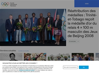 Site officiel du Mouvement Olympique