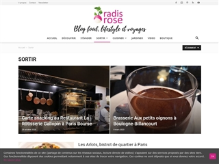 Radis Rose : Bons Restaurants à Paris