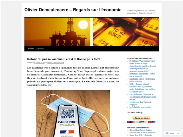 Blog d'Olivier Demeulenaere