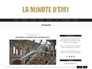 LA MINUTE D'EMY : Voyages
