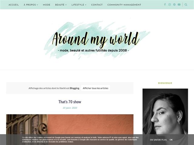 Around my World : Blogging