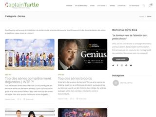 Captain Turtle : Cinéma