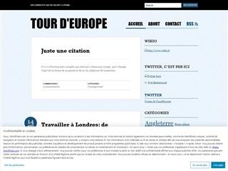 Tour d'Europe