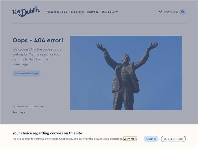 Musée des écrivains de Dublin