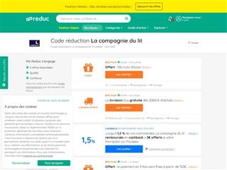 Ma-reduc.com : La Compagnie du Lit