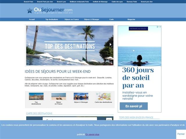 OùSéjourner.com
