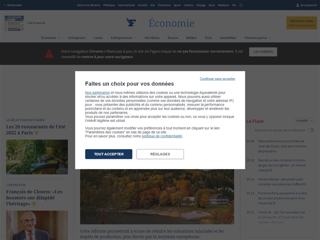 Le Figaro : Patrimoine