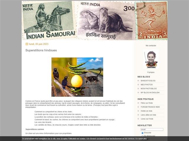 Indian Samourai