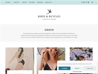 Birds & Bicycles : Green