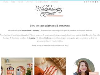 Mademoiselle Modeuse : Bonnes Adresses à Bordeaux