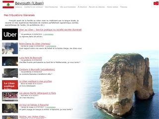 Beyrouth (Liban)- Mes tribulations libanaises