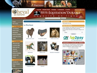 Planète Cheval au naturel : Boutique