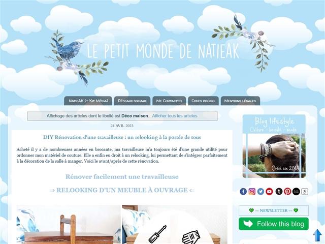 Le Petit Monde de NatieAK : Déco Maison