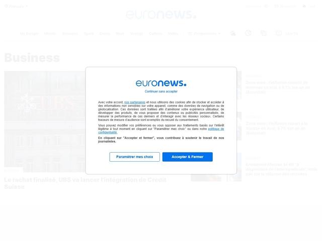 Euronews : Business