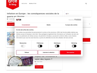 OFCE - Sciences Po : Le Blog
