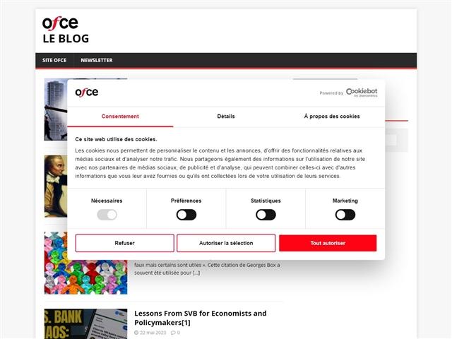 OFCE - Sciences Po : Le Blog