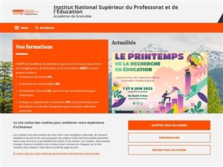 ESPE de l'académie de Grenoble