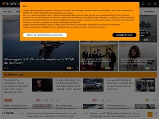 Sputnik News : Russie