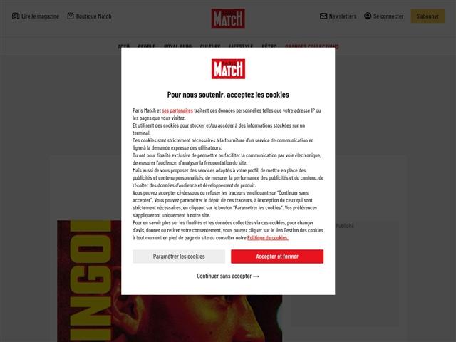 Paris Match : Culture