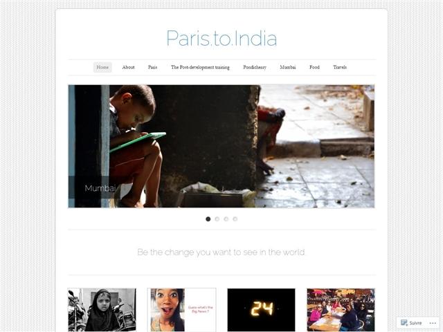 Le fabuleux destin d'une stagiaire parisienne a Bombay