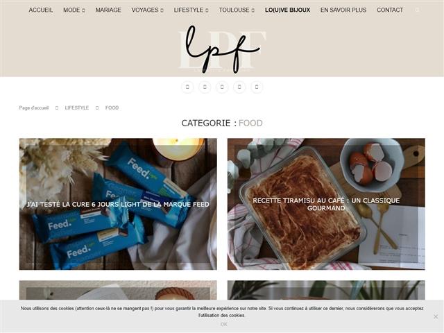 La Petite Frenchie : Food