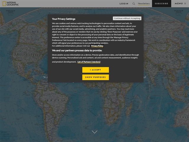 National Geographic (US) : MapMachine