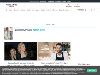 Femme Actuelle : News / Actu