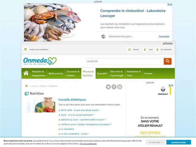 Santé-AZ : Nutrition